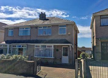 Thumbnail 3 bed semi-detached house for sale in Lymm Avenue, Lancaster, Lancashire