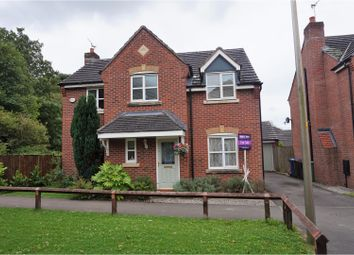 Thumbnail 4 bedroom detached house for sale in Swan Grove, Manchester