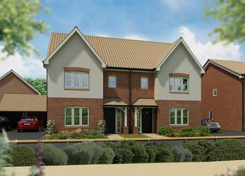 "Thumbnail 3 bed semi-detached house for sale in ""The Cypress"" at Haughton Road, Shifnal"