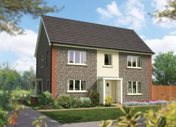 Thumbnail 4 bed detached house for sale in Amesbury Road, Londhedge, Salisbury