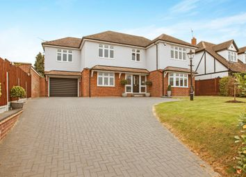 Thumbnail 5 bedroom detached house for sale in Roxwell Road, Chelmsford