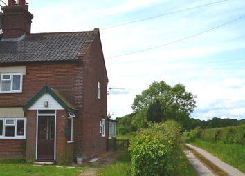 Thumbnail 3 bedroom semi-detached house to rent in Sexton Road, Hedenham, Bungay