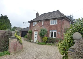Thumbnail 3 bed detached house for sale in Woodforde Close, Weston Longville, Norwich