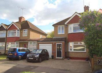 Thumbnail 3 bed semi-detached house for sale in Willow Avenue, Swanley, Kent