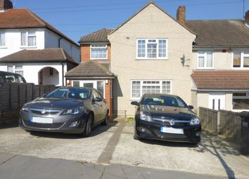 Thumbnail 3 bed end terrace house for sale in Walsingham Road, New Addington