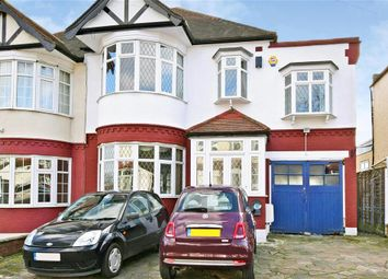 Thumbnail 4 bed semi-detached house for sale in Hillington Gardens, Woodford Green, Essex