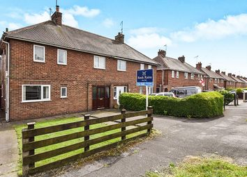 Thumbnail 3 bed semi-detached house for sale in Danesby Crescent, Denby, Ripley