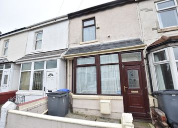 Thumbnail 2 bed terraced house for sale in Wall Street, Blackpool, Lancashire