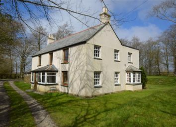 Thumbnail 4 bed detached house for sale in Widegates, Looe, Cornwall