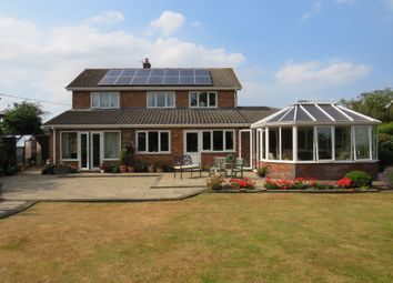 Thumbnail 5 bed detached house for sale in Poorhouse Lane, Bracon Ash, Norwich