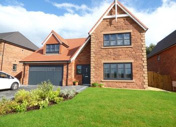 Thumbnail 4 bed detached house for sale in Whins Close, Heads Nook, Brampton