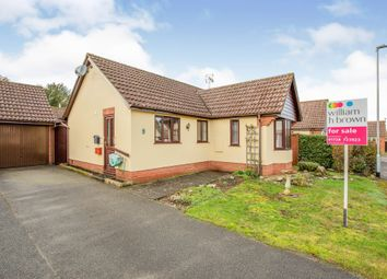 Thumbnail 2 bed detached bungalow for sale in Jubilee Close, Laxfield, Woodbridge