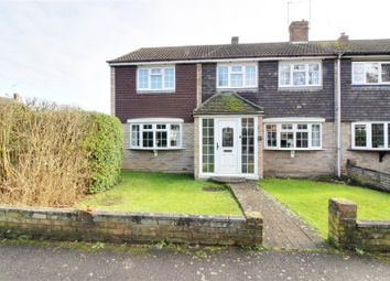 Thumbnail 4 bed end terrace house for sale in Herongate Road, Cheshunt, Waltham Cross
