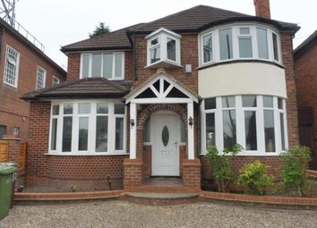 Thumbnail 4 bed detached house to rent in Lyndon Road, Solihull