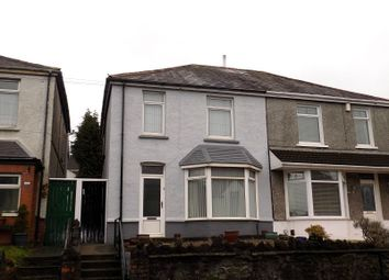 Thumbnail 3 bed semi-detached house for sale in Pant Yr Heol, Neath, Neath Port Talbot.