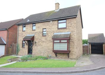 Thumbnail 4 bedroom detached house for sale in Snowford Close, Luton