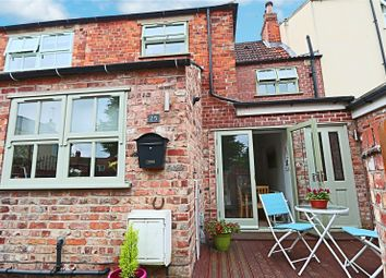 Thumbnail 3 bed terraced house for sale in Beckside, Beverley, East Yorkshire
