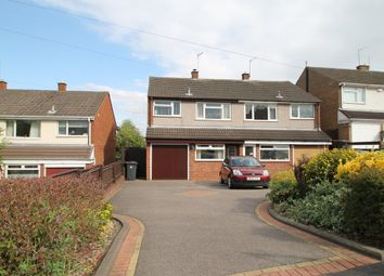 Thumbnail 3 bed semi-detached house for sale in Bardon View Road, Dordon, Tamworth