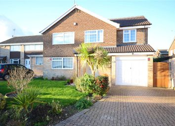 Thumbnail 4 bedroom detached house for sale in Kingsdown Close, Earley, Reading