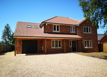 Thumbnail 4 bedroom detached house for sale in West Drove South, Gedney Hill
