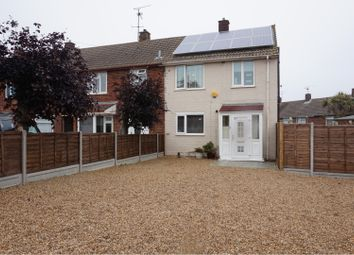 Thumbnail 3 bed end terrace house for sale in Derwent Way, Gillingham
