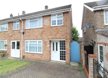 Thumbnail 3 bedroom end terrace house for sale in Marlin Road, Luton