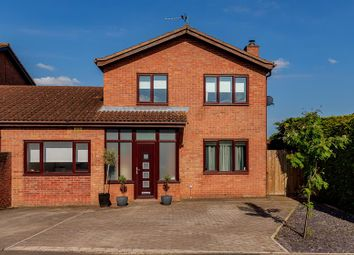 Thumbnail 4 bed link-detached house for sale in Berkeley Close, Ross-On-Wye