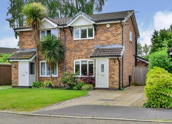 Thumbnail 2 bed semi-detached house for sale in Dorchester Close, Wilmslow