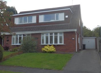 Thumbnail 3 bed semi-detached house to rent in Pembroke Drive, Newcastle-Under-Lyme