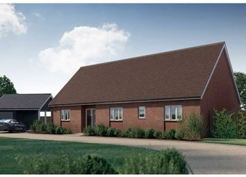 Thumbnail 3 bedroom detached bungalow for sale in Newton, Sudbury, Suffolk