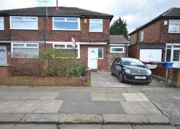 Thumbnail 3 bed semi-detached house for sale in Clandon Avenue, Manchester