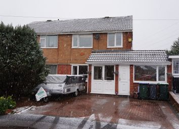 Thumbnail 3 bedroom semi-detached house for sale in Peveril Way, Great Barr, Birmingham