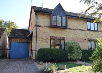 Thumbnail 3 bed semi-detached house for sale in Newton Road, Farnborough