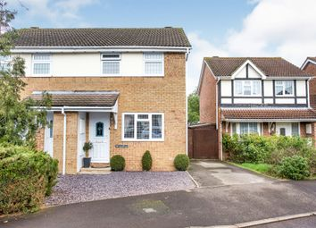 Thumbnail 3 bedroom semi-detached house for sale in Cudworth Mead, Hedge End, Southampton