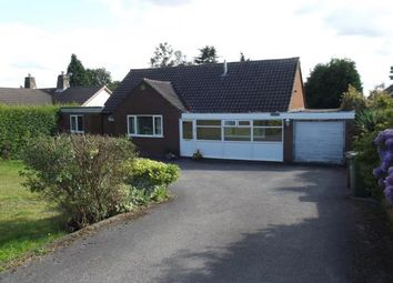 Thumbnail 3 bed bungalow for sale in Buds Road, Cannock Wood, Rugeley, Staffordshire
