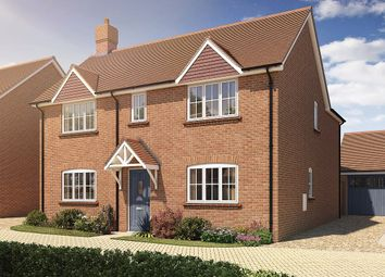 Thumbnail 3 bed detached house for sale in Oak Tree Close, Farnham Road, Odiham, Hampshire