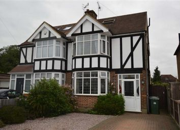 Thumbnail 5 bed semi-detached house for sale in Claremont Crescent, Croxley Green, Rickmansworth Hertfordshire