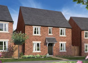 "Thumbnail 4 bed detached house for sale in ""The Somerton"" at Heyford Park, Camp Road, Upper Heyford, Bicester"