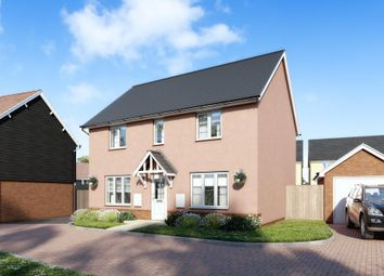 "Thumbnail 4 bed detached house for sale in ""Thornbury"" at Marsh Lane, Harlow"