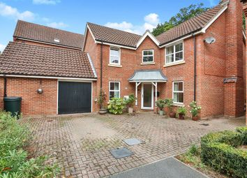 Thumbnail 4 bed detached house for sale in Nelson Drive, Little Plumstead, Norwich