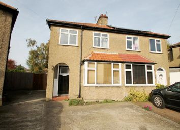 Thumbnail 3 bed semi-detached house to rent in Leyland Avenue, St.Albans