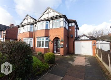 Thumbnail 3 bed semi-detached house for sale in Lakeside Avenue, Bolton, Greater Manchester