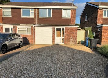 Thumbnail 3 bed semi-detached house for sale in King John Avenue, Bearwood, Bournemouth