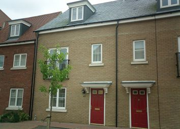 Thumbnail 4 bedroom terraced house to rent in Woodpecker Way, Great Cambourne, Cambourne, Cambridge