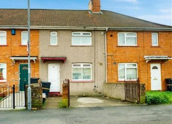 Thumbnail 3 bed terraced house for sale in Connaught Road, Knowle, Bristol