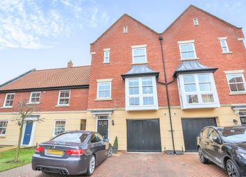 Thumbnail 3 bedroom town house for sale in Trafalgar Square, Poringland, Norwich
