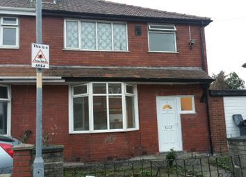 Thumbnail 3 bed semi-detached house to rent in Longford Place, Longsight, Manchester