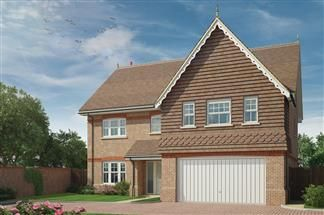 Thumbnail 5 bedroom detached house for sale in Cutbush Lane, Shinfield