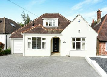 Thumbnail 4 bed detached bungalow for sale in Hillside Crescent, Northwood