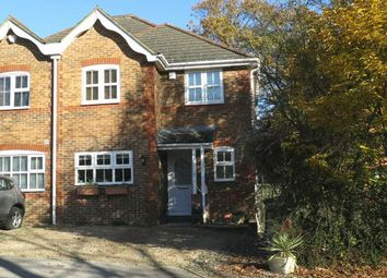 Thumbnail 4 bed semi-detached house for sale in Quiet Private Road. Kaynes Park, Ascot, Berkshire